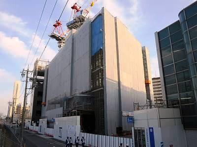 3/2のWINS名古屋躯体工事部分