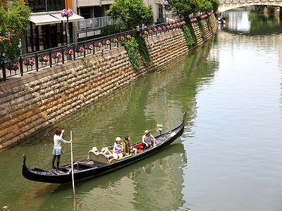 名古屋・堀川に浮かぶゴンドラ