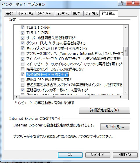 インターネットエキスプローラー対策5kai
