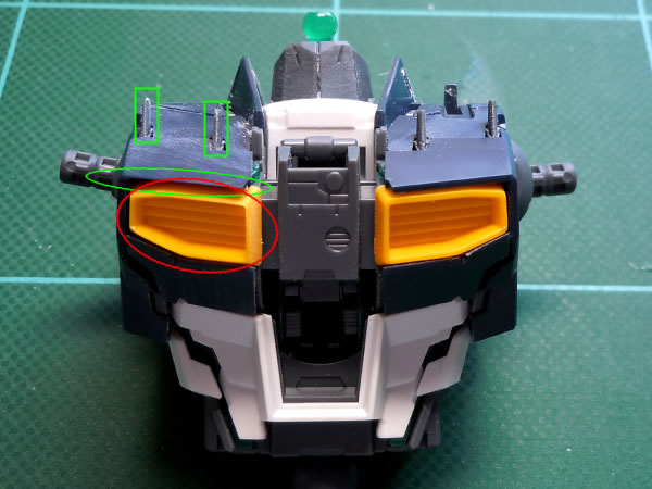 MG νガンダム Ver.Ka 2 製作01