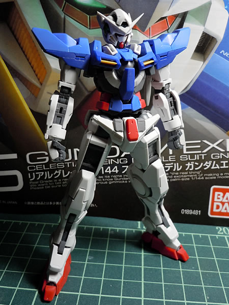 RG エクシア 製作002