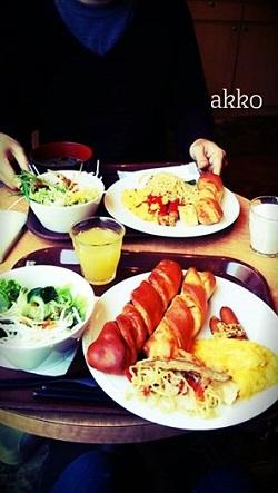 四日市朝食akkoさん