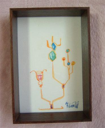 ほっと癒される光の絵画 感謝と祈りの詩と薔薇とアートコレクション-ステンドグラス 水彩画