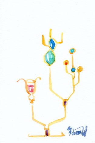 ほっと癒される光の絵画 感謝と祈りの詩と薔薇とアートコレクション-坂本龍一氏の曲に寄せた水彩画