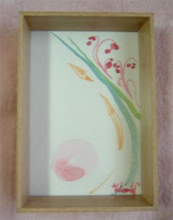 ほっと癒される光の絵画 感謝と祈りの詩と薔薇とアートコレクション-抽象画ー1 水彩画