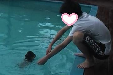アンジュ泳ぐ