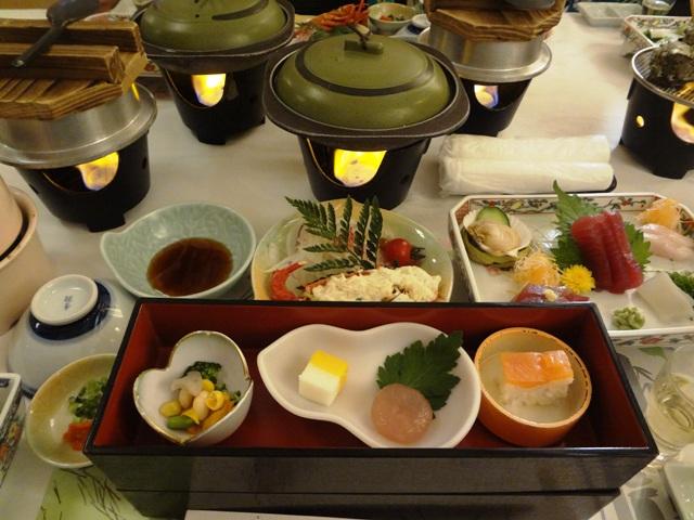 龍宮城スパホテル三日月 夕食