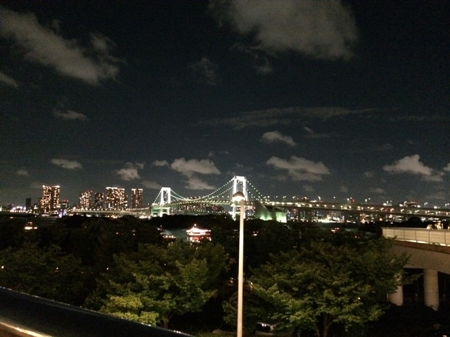 お台場から見た夜景