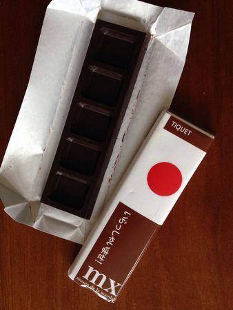 チョコレートチケット