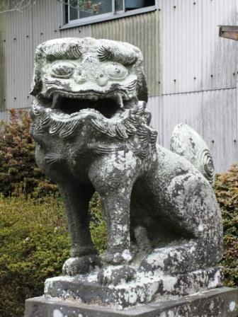 米嶋八幡宮鹿本1