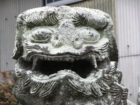 米嶋八幡宮鹿本2
