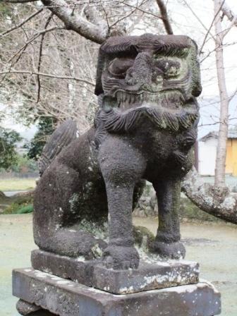 米嶋八幡宮鹿本3