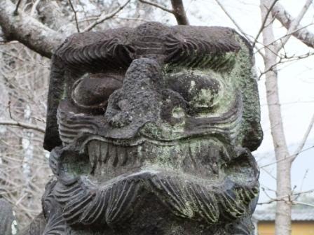 米嶋八幡宮鹿本4