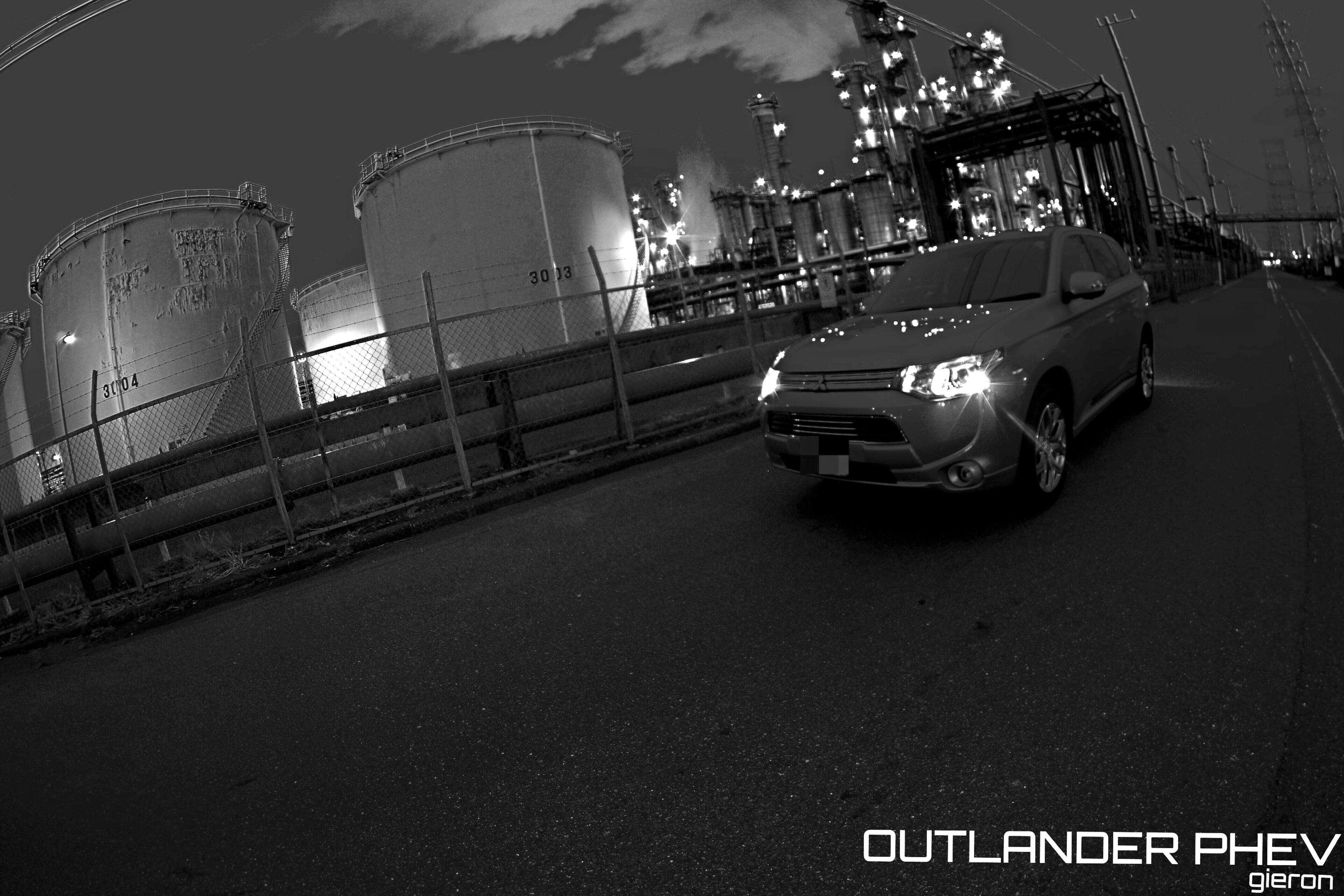 Mitsubishi outlander phev at factory