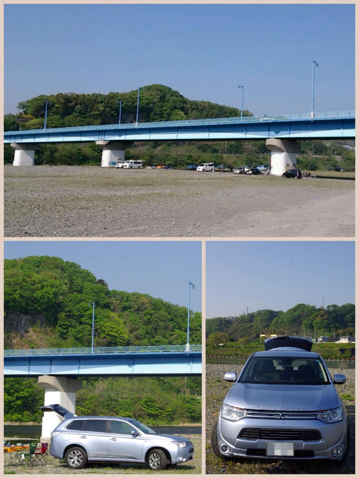 高田橋河川敷