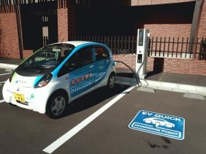 日本平ホテル EV充電器