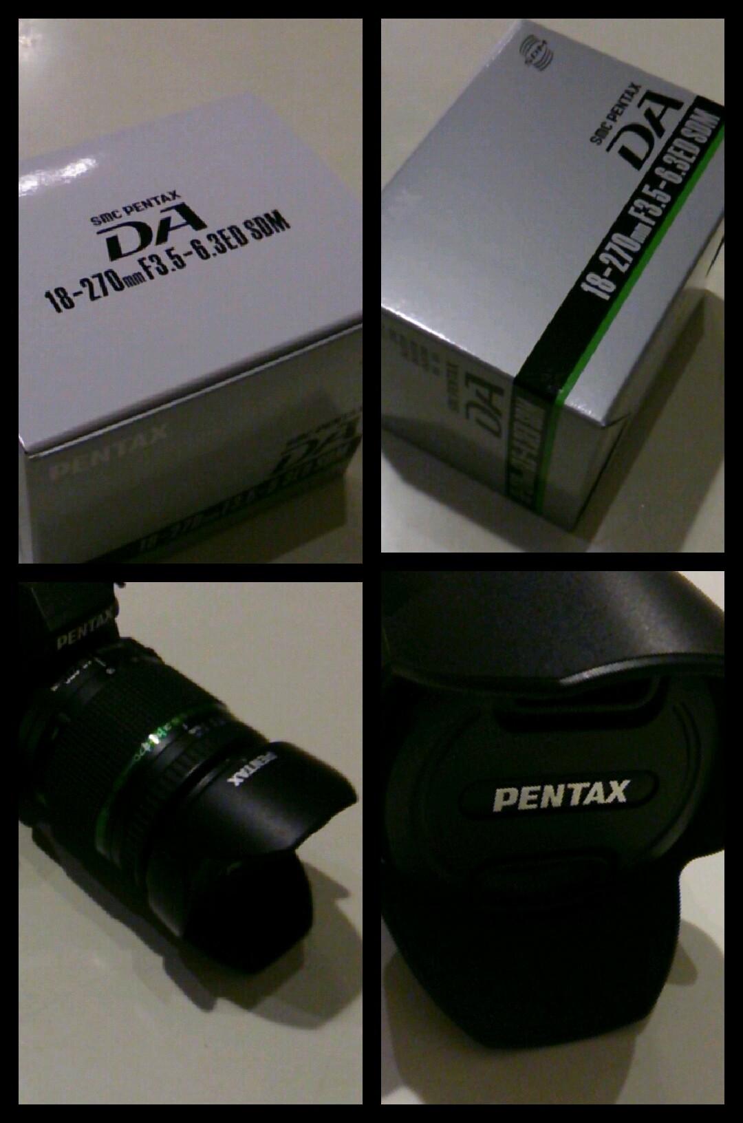 PENTAX da18-270