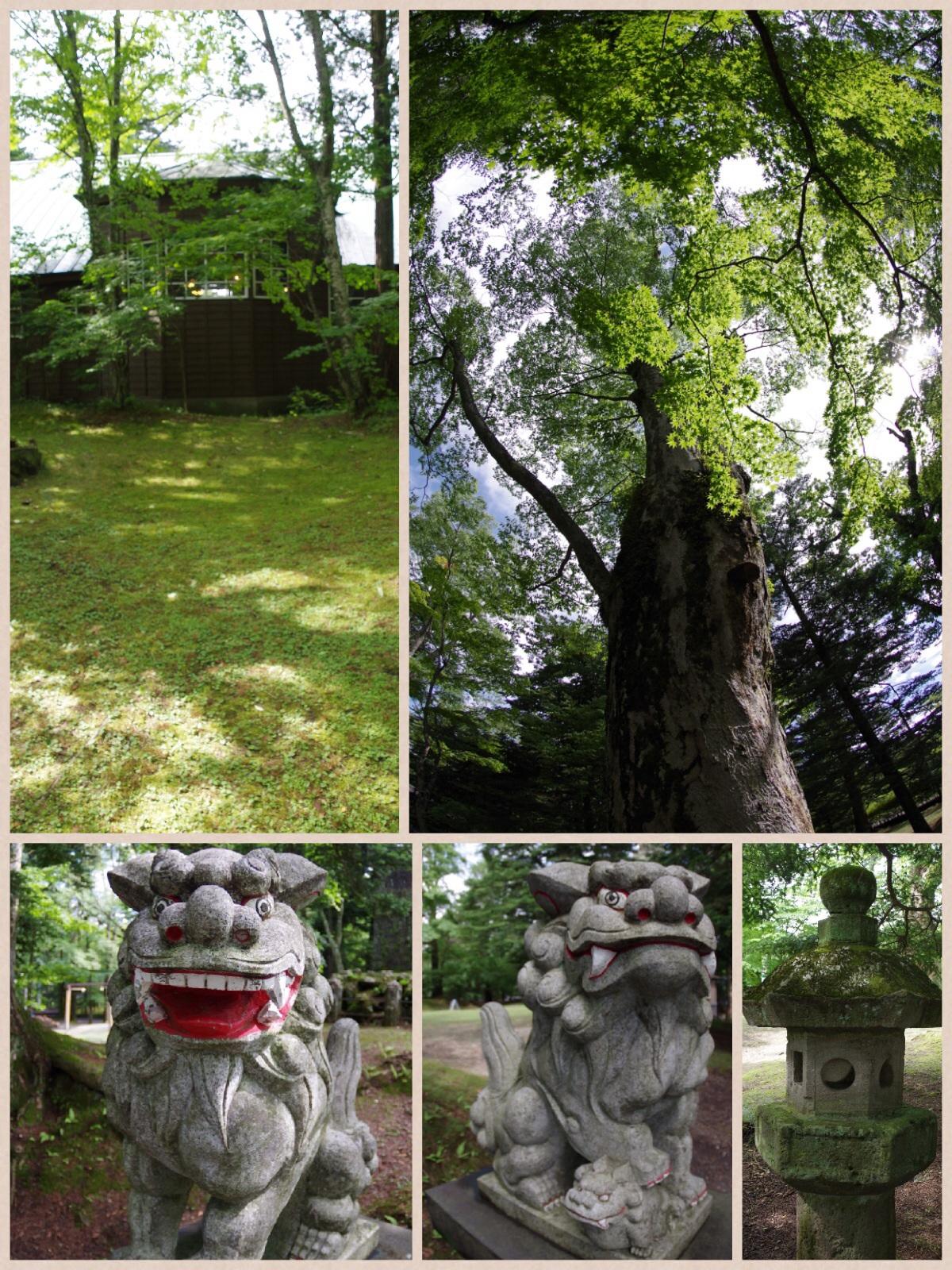 旧軽井沢散策