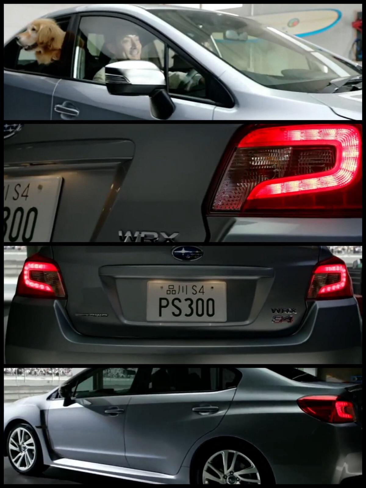 スバル WRX S4 CM