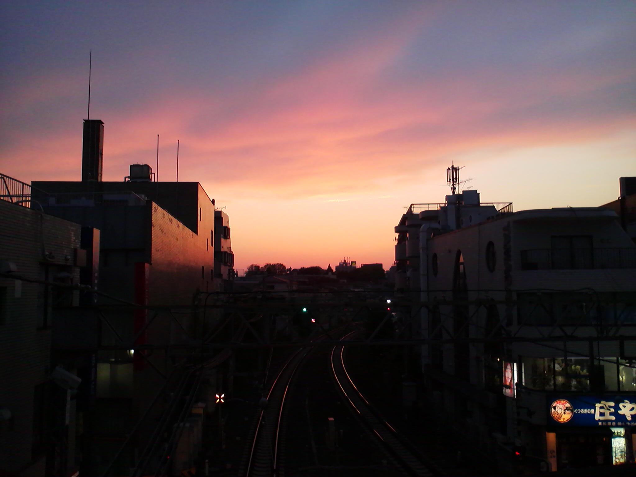夕焼け02