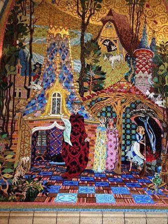 シンデレラ城壁画