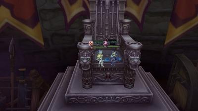 塔12階玉座で遊ぶ