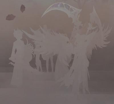 砂塵シルエット