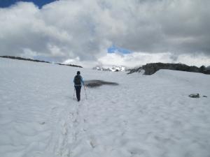 雪50メートル