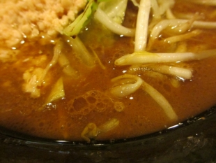 みそら 焙煎味噌ラーメン スープ