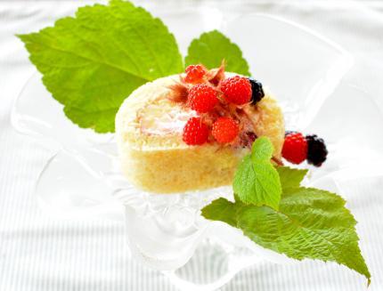 raspberryロールケーキ