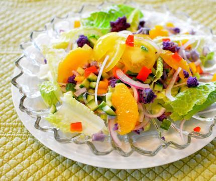 オレンジサラダ