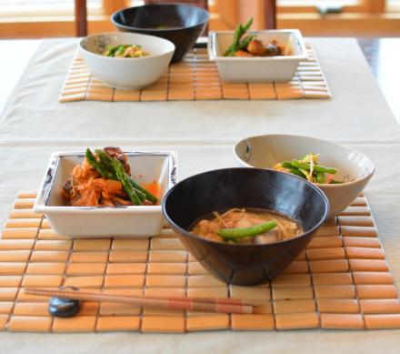 キムチ研究会で夕飯