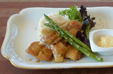 chicken照り焼きマヨ丼(plate)