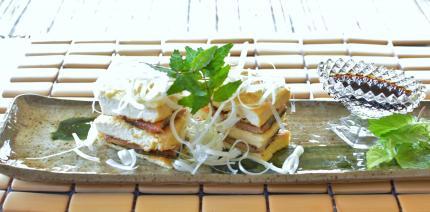 鰻の豆腐蒸し