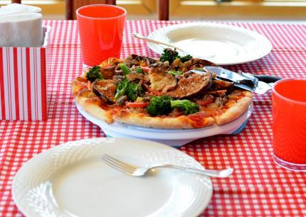 ヴェジタブルpizza