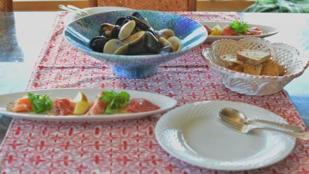 ムール貝&clam