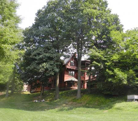 Mark TwainのCTの家