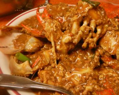 蟹の炒め煮