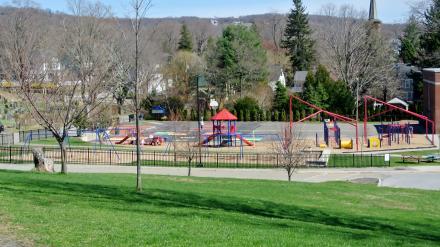 幼稚園の遊び場