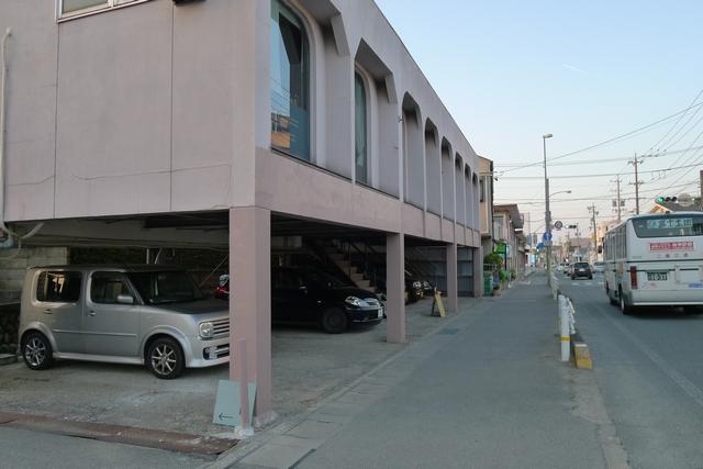 MOND CAFE第1駐車場01