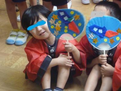 幼稚園盆踊り2014①