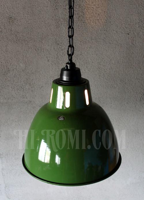 琺瑯製 ほうろう エナメル インダストリアル 工業系 2灯 鎖 チェーン ペンダントライト リビング キッチン 廃墟 照明 ライト アンティーク ジャンク シャビー ランプ