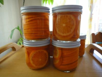ブラッドオレンジコンフィ