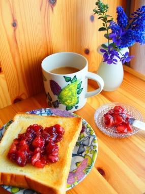 strawberry koso siroop jam