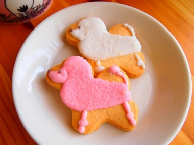 poodle cookie