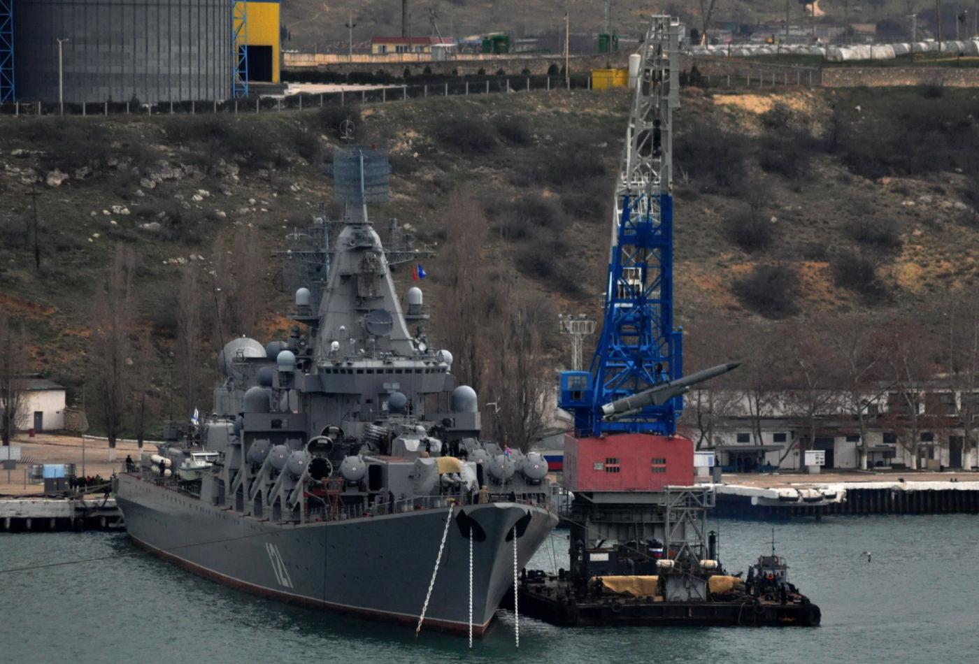 ロシア海軍黒海艦隊旗艦・親衛ロケット巡洋艦モスクワは2015年末から近代化改装を開始する | N.G.クズネツォフ記念・ウリヤノフスク赤旗・親衛ロシア海軍情報管理局