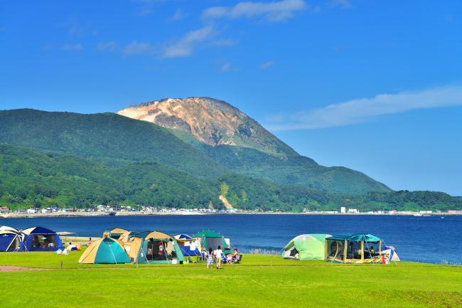 141. 恵山海浜公園 キャンプ場