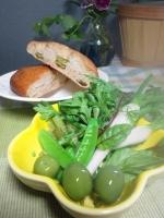 20140524初収穫サラダ