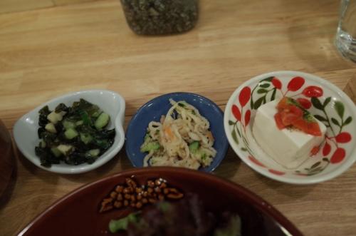 旬の野菜のおかず3品
