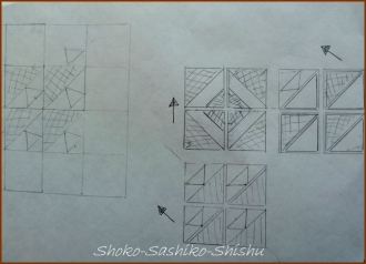 20140217 模様図案 四角模様